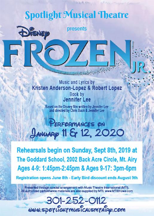 Frozen Jr. - Spotlight Theatre